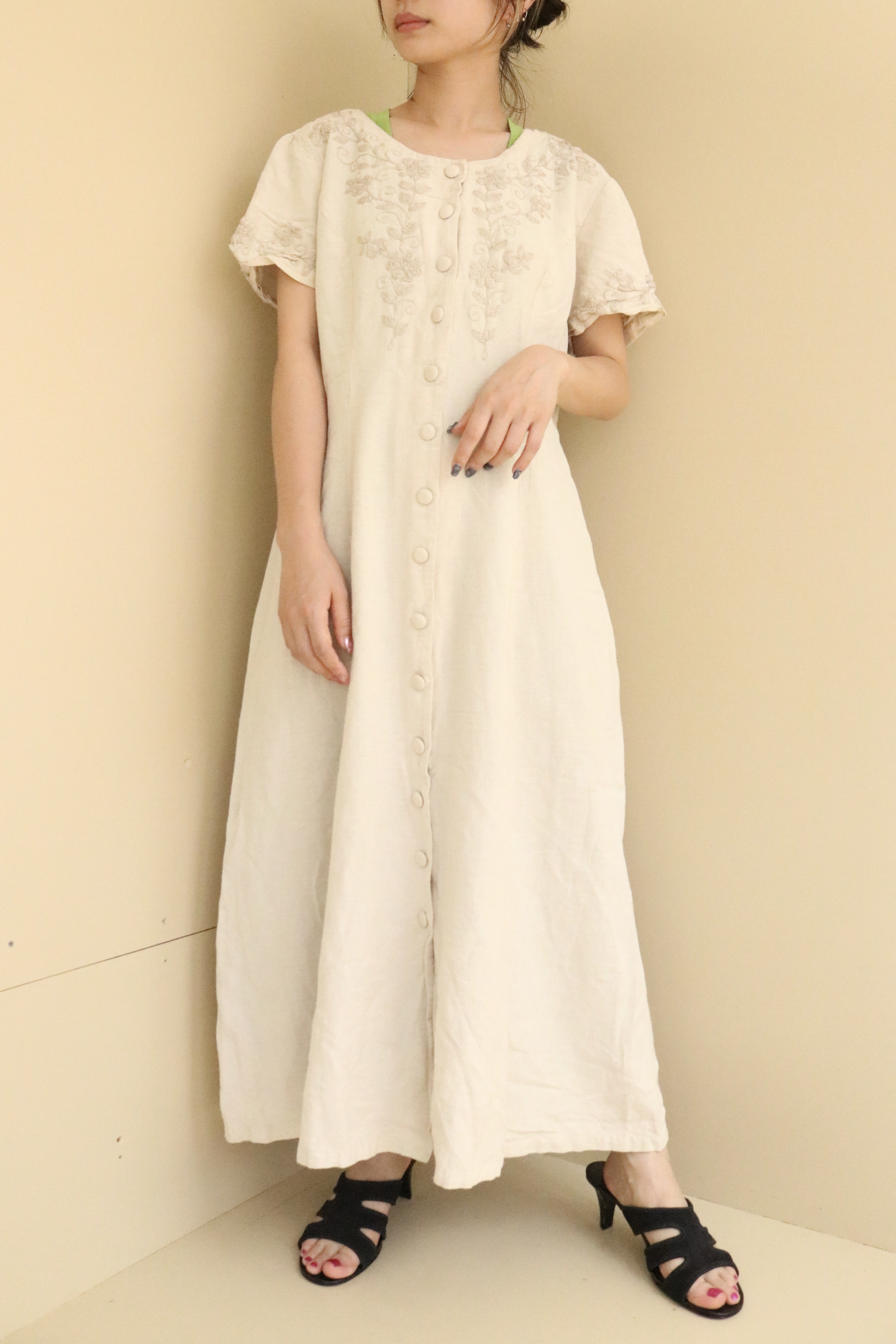 embroidery one-piece / 6SSOP24-15