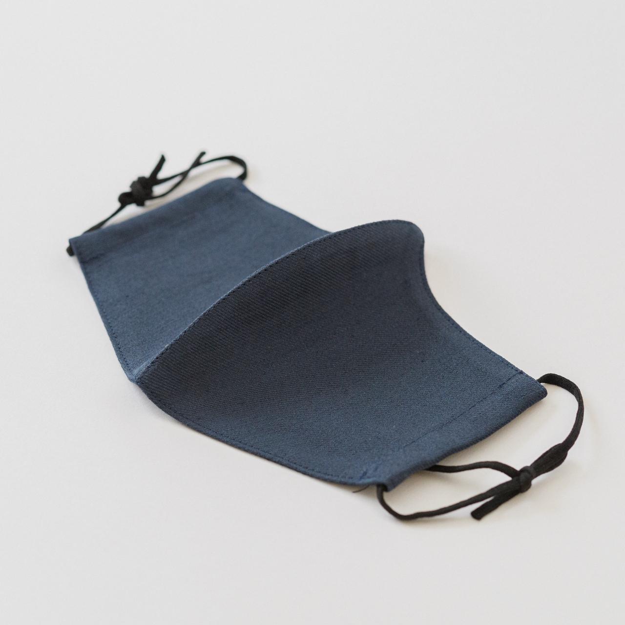 1.青褐 - AOKACHI / ひんやり麻マスク