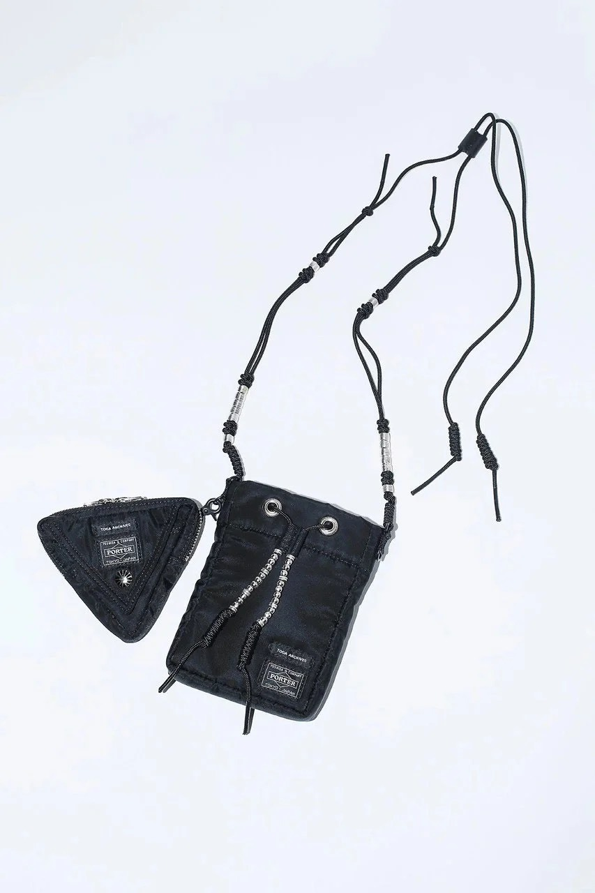 【TOGA ARCHIVES】SHOULDER POUCH TOGA × PORTER