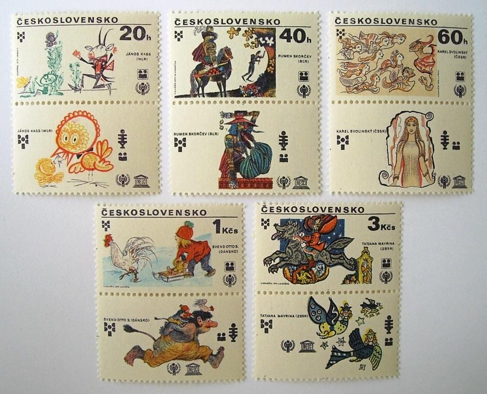 国際児童年・絵本 / チェコスロバキア 1979