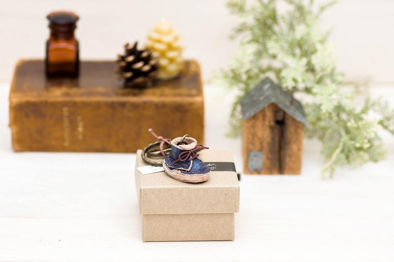 cotorebi Mountain Boots key ring(片足)デニム調