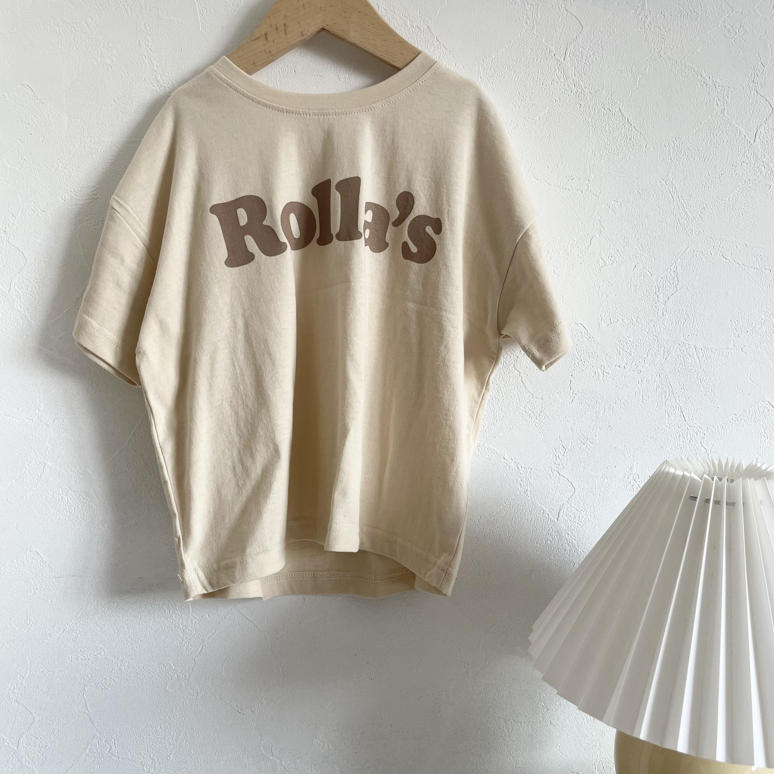 NO.1411. Rolla's tee / white boy