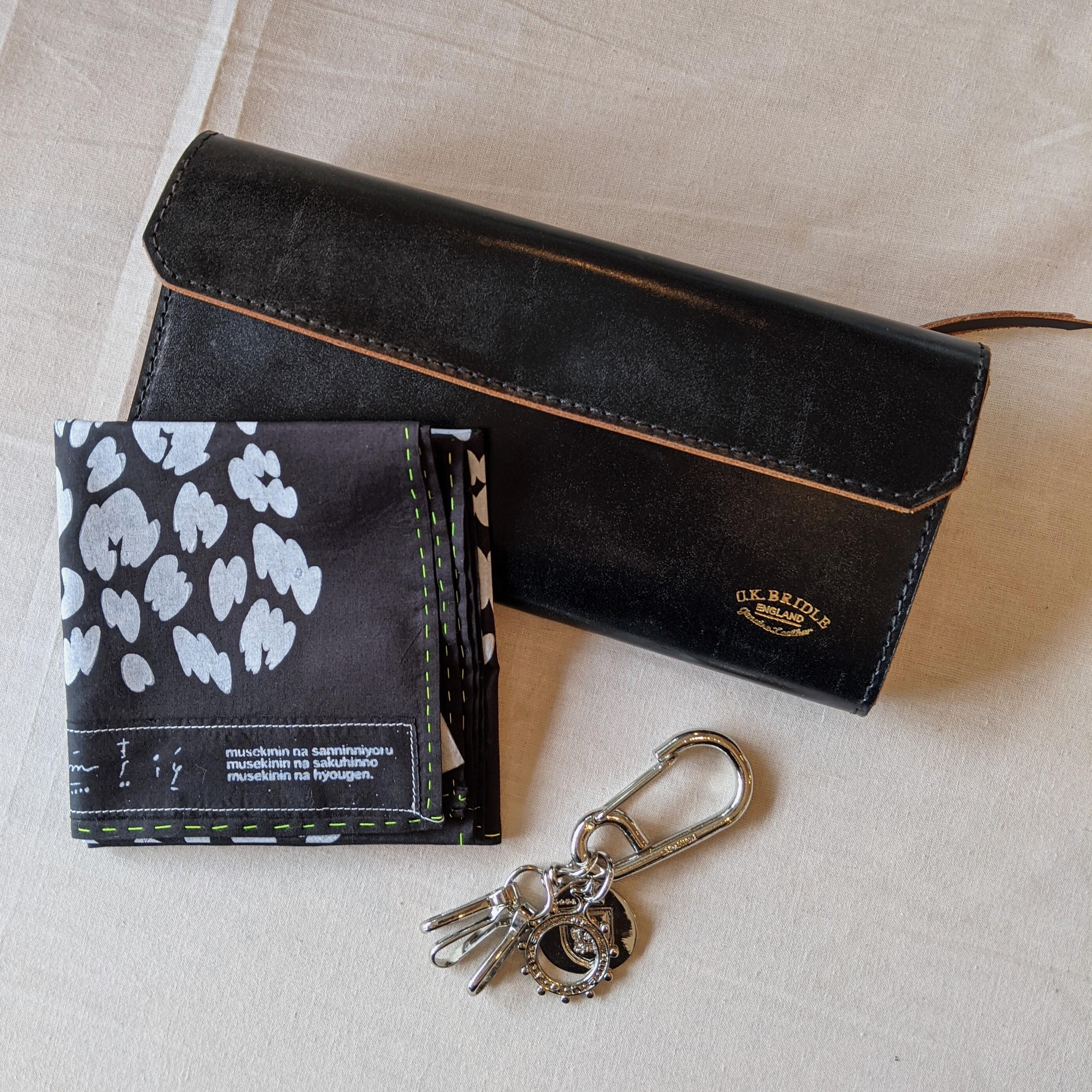 【 STRIPS 】ストライプス /  leopard handkerchief  /  ハンカチ / レオパード / シルクスクリーン