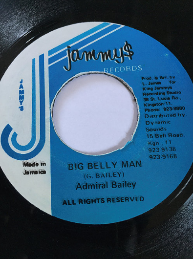 Admiral Bailey(アドミラルベイリー) - Big Belly Man【7'】