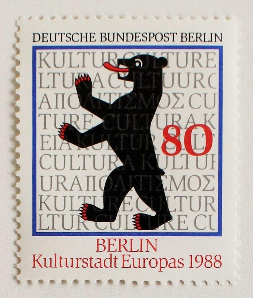 欧州文化都市ベルリン / ドイツ 1988