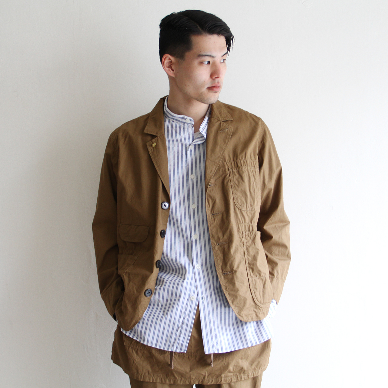 H.UNIT【 mens 】weather cloth coverall