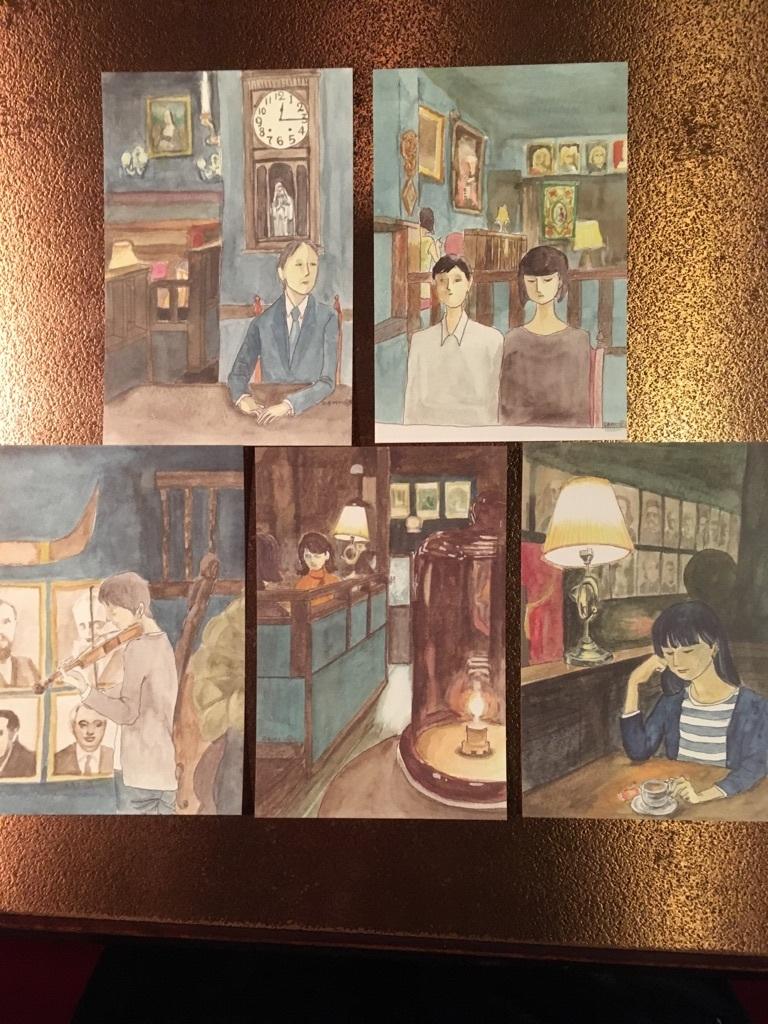 時の回廊 ポストカード(全5種)