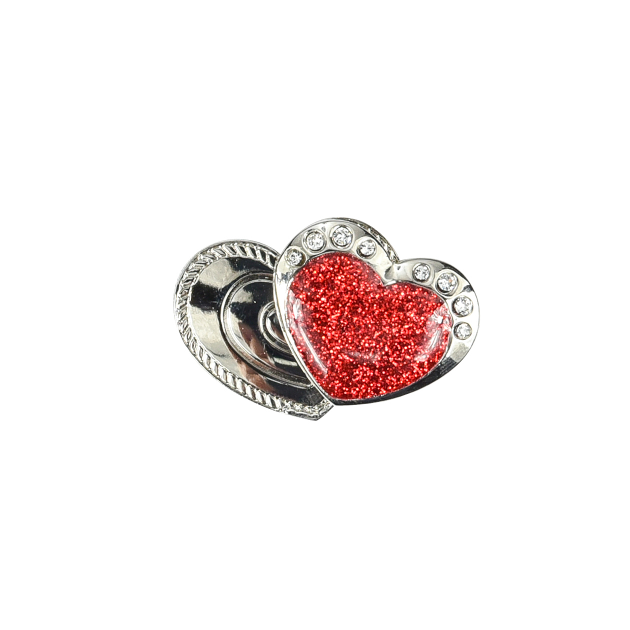 257.  Shoe Marker - red heart