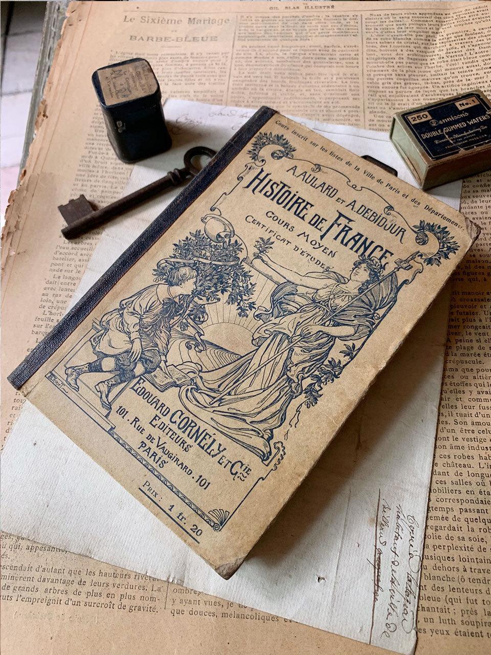 古書 HISTOIRE DE FRANCE