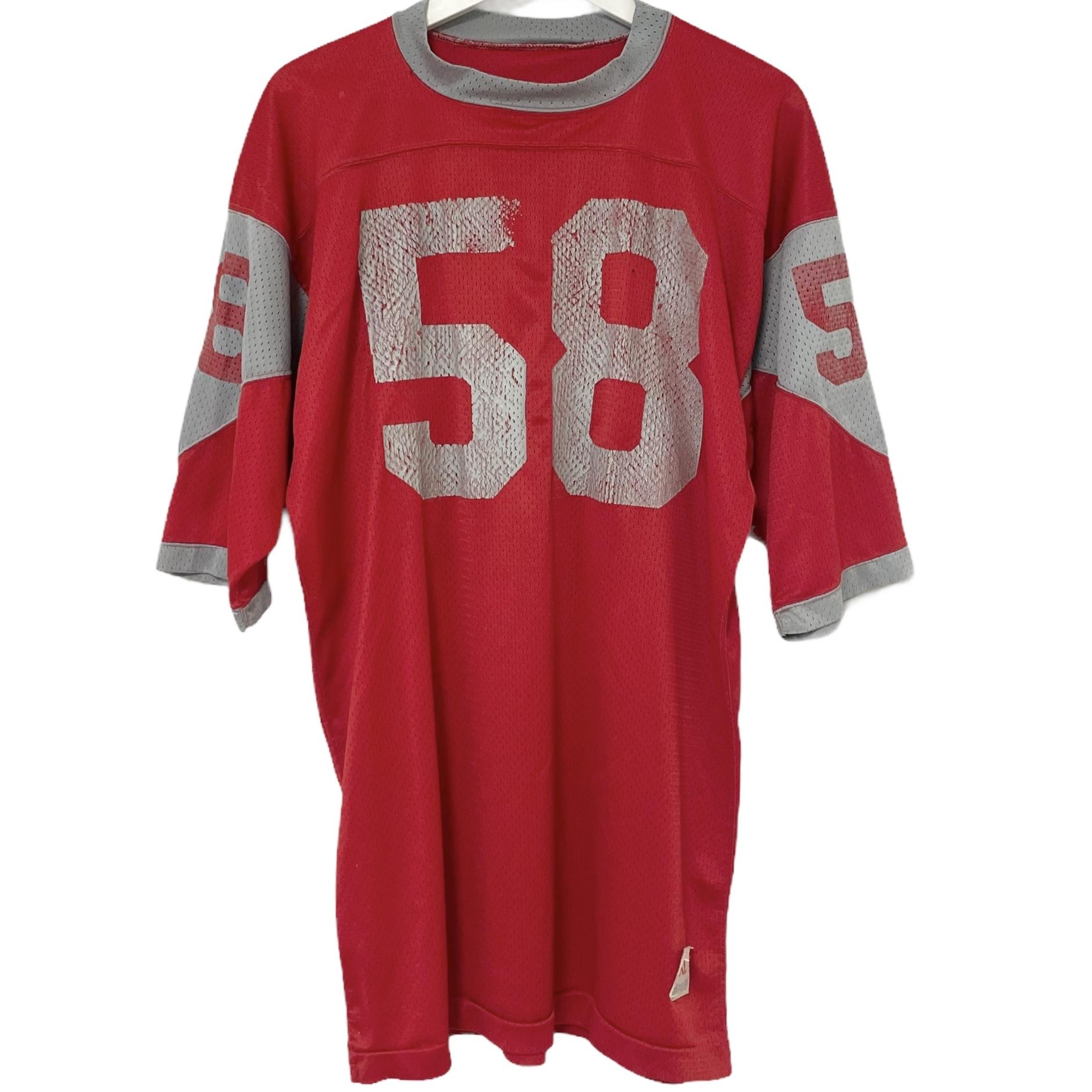 70's Champion Football T Mesh 58【M】