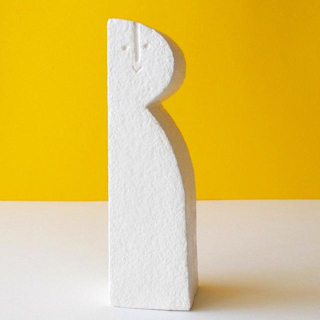 Peter Slight ceramics Medium Head TALL & THIN / MH02