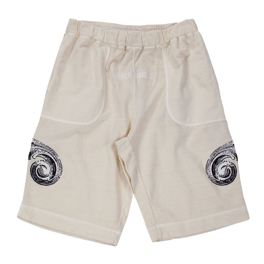 CHILDREN OF THE DISCORDANCE Embroidery Shorts Ivory