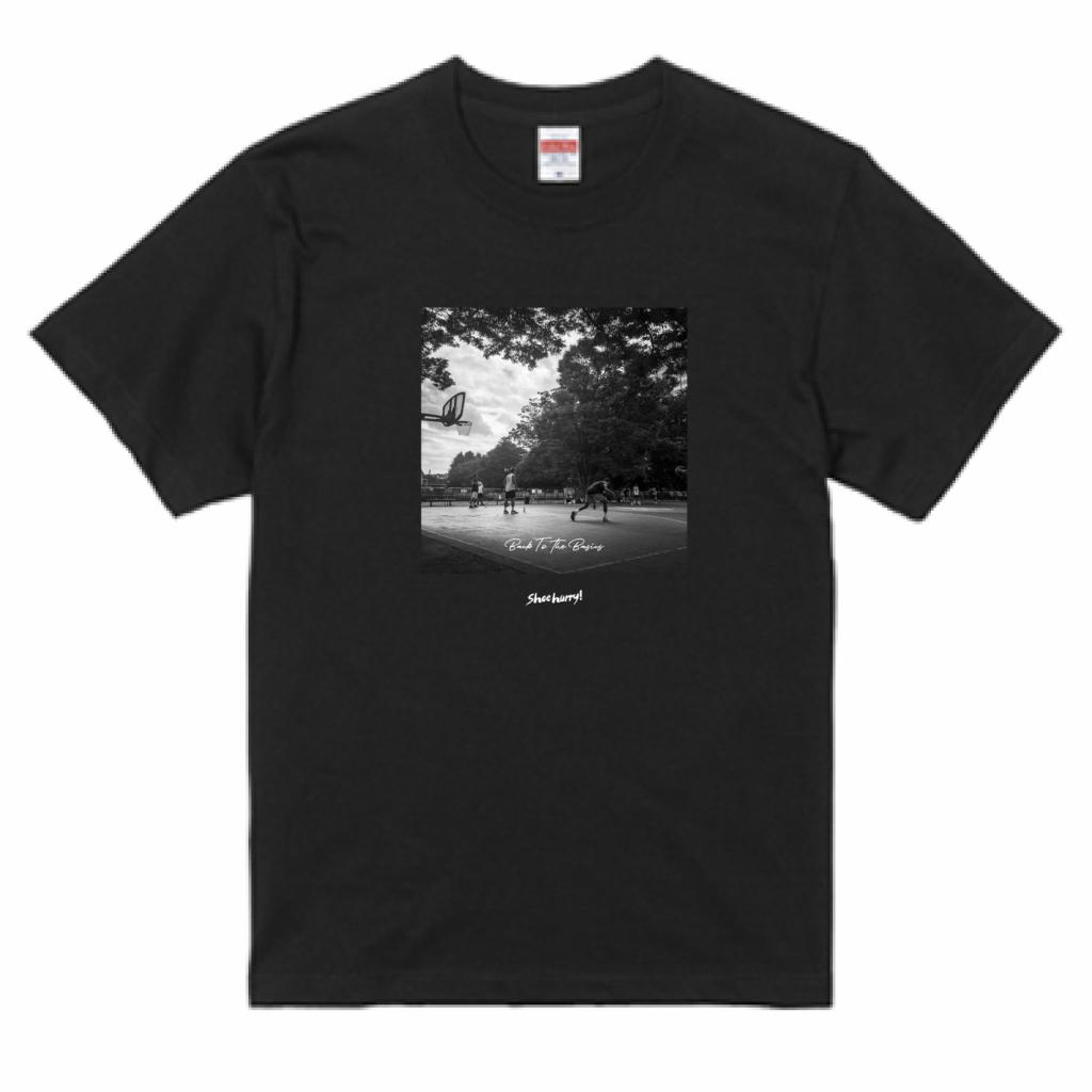 SHOEHURRY!  T-SHIRTS|Back to the basics Tシャツ