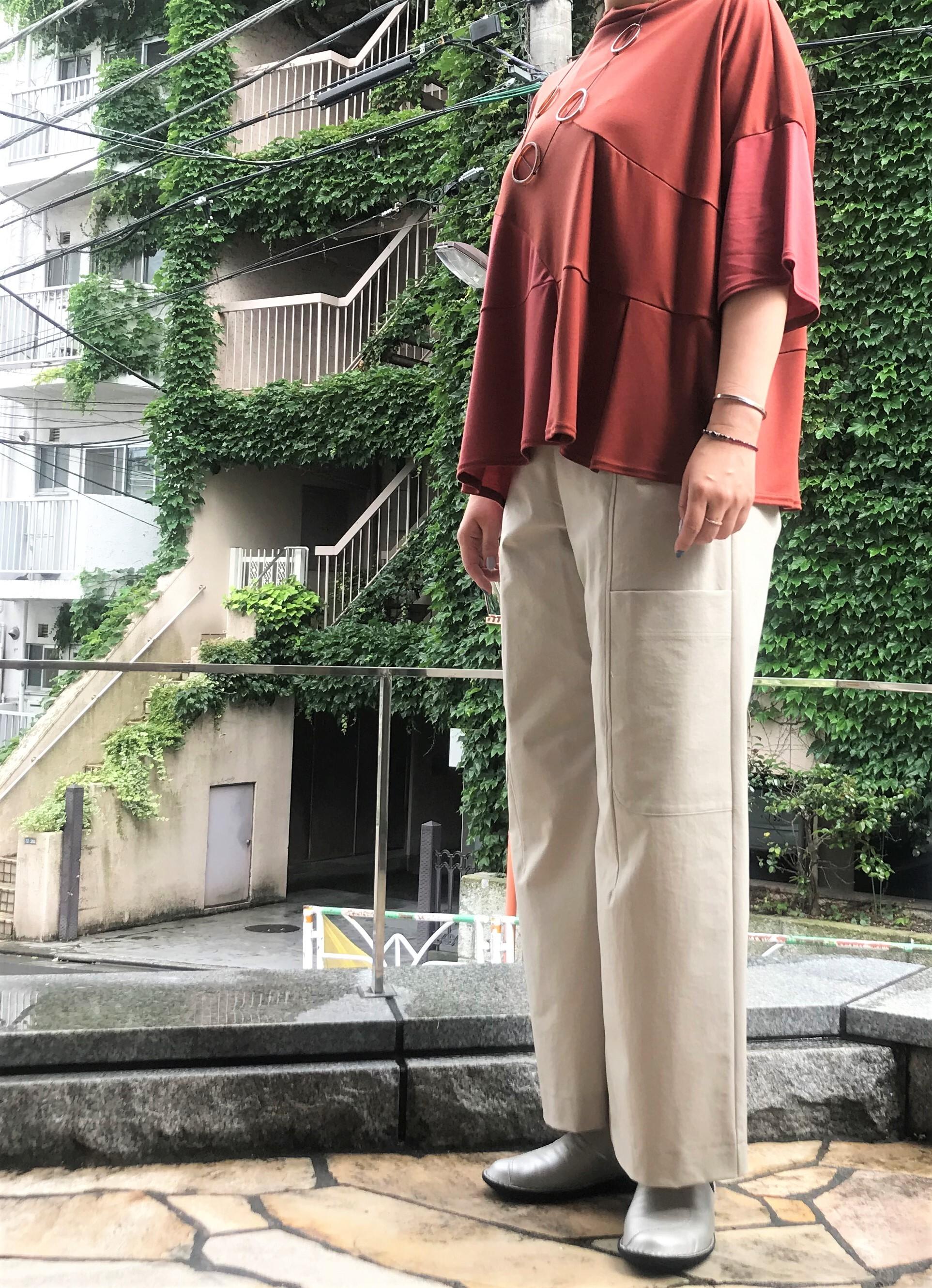 【50%OFF】ハリジェンヌスムースオーバーサイズTシャツ【212-3229】