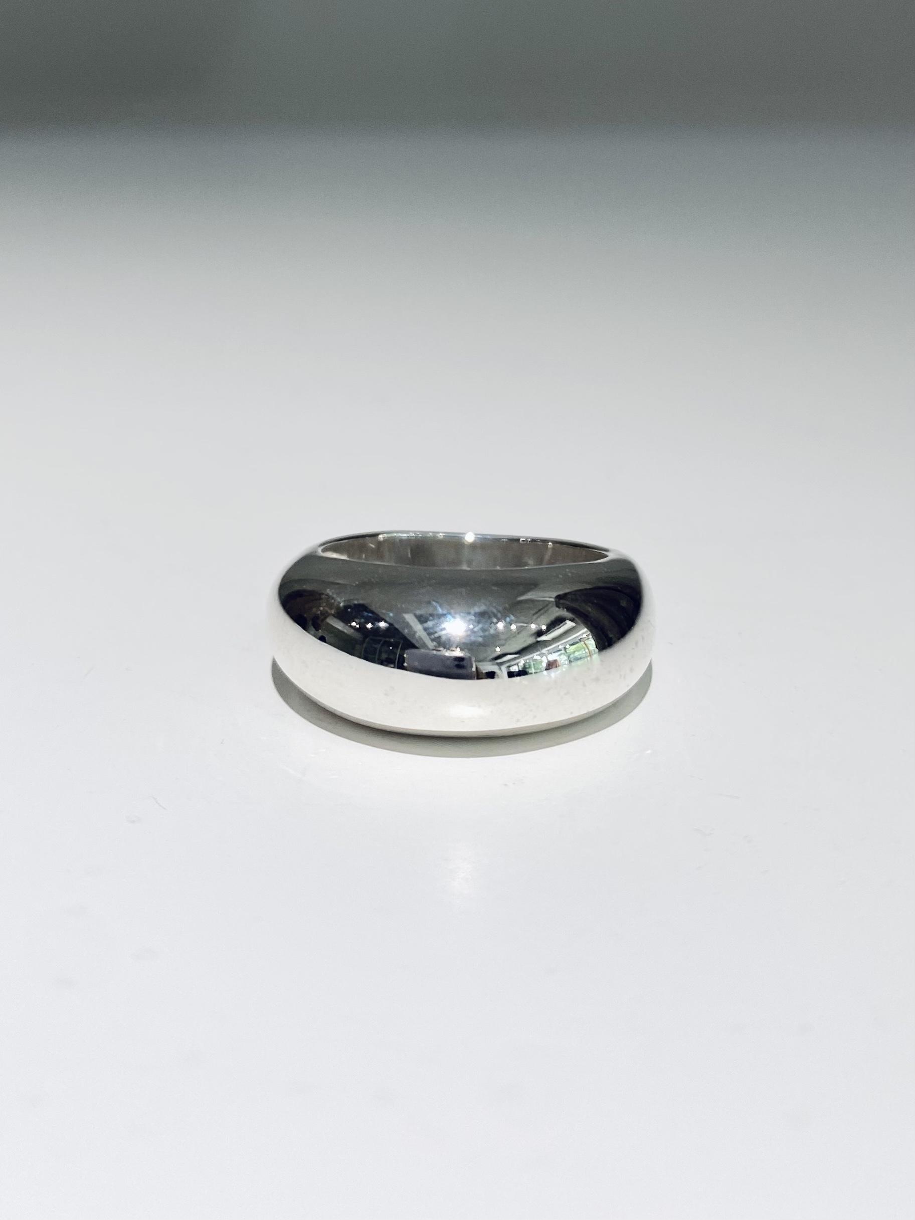 ring silver925 13号