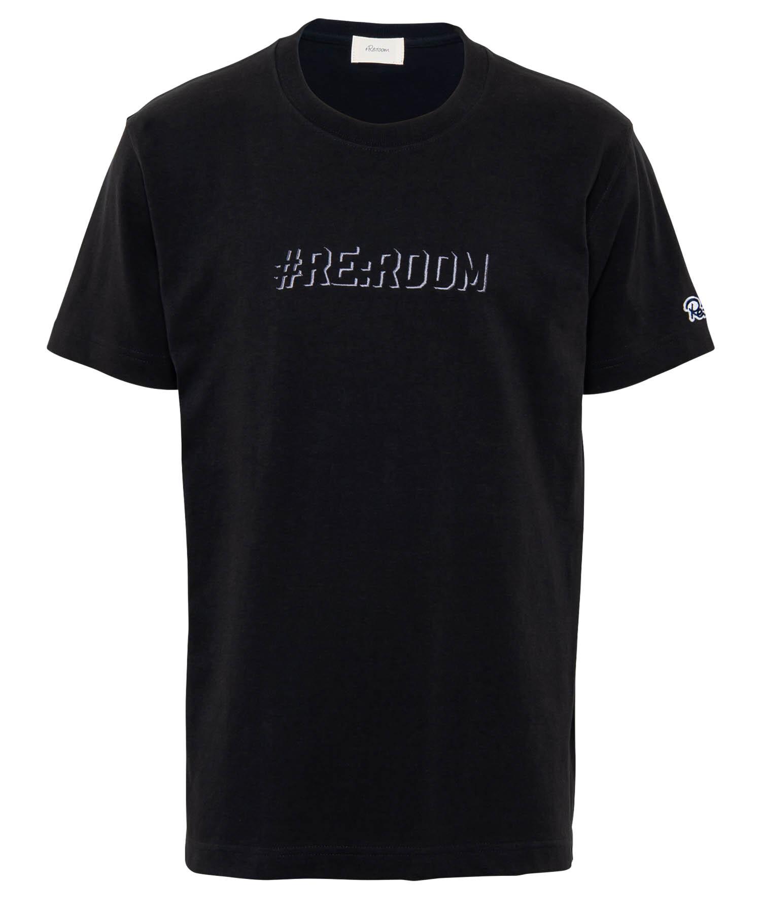 EMBROIDERY SHADOW LOGO T-shirt[REC396]