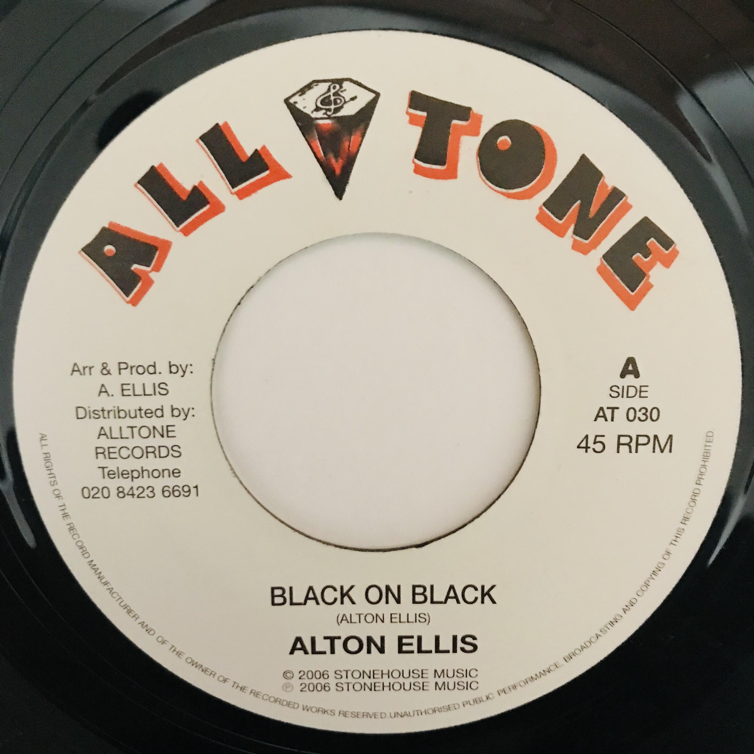 Alton Ellis - Black On Black【7-10990】