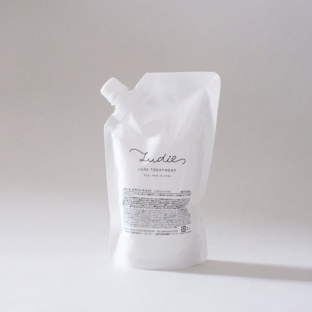 ludie. ケアトリートメント 500g ボトル付き