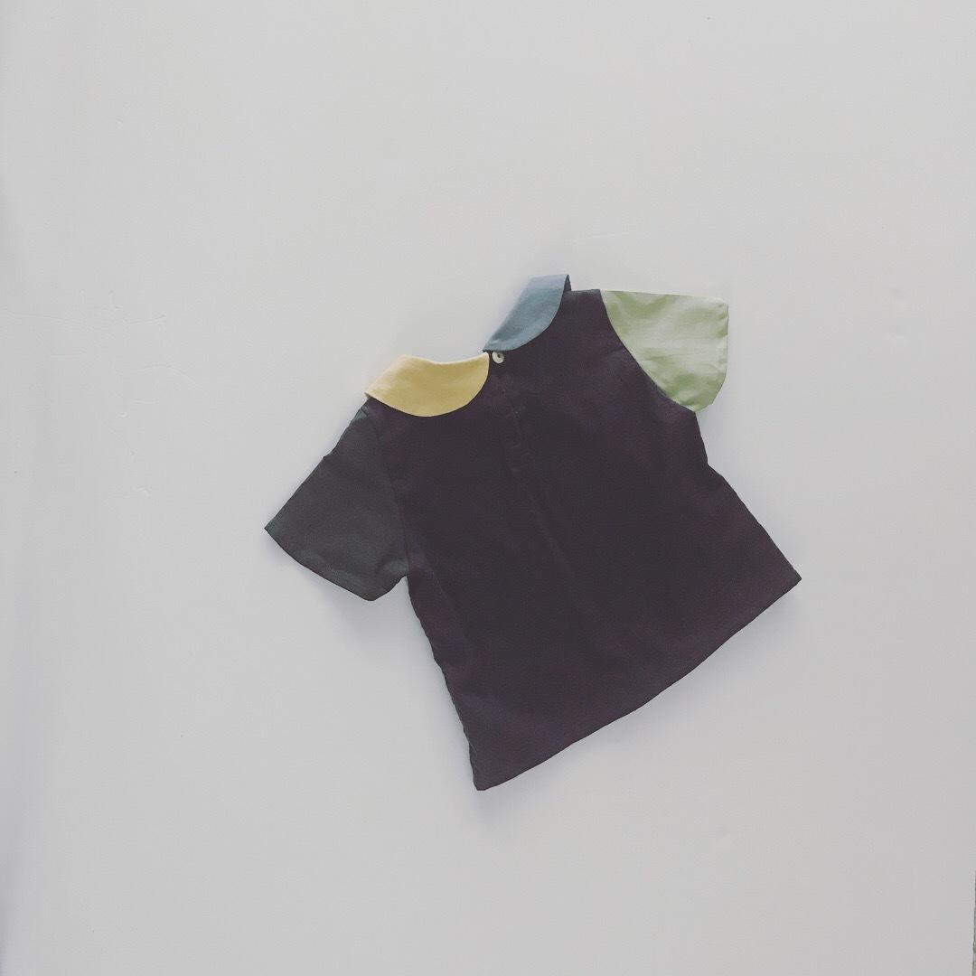 04丸襟パレットシャツ