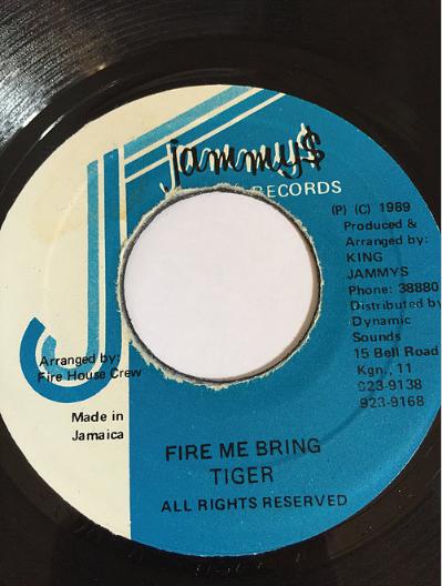 Tiger(タイガー) - Fire Me Bring【7'】
