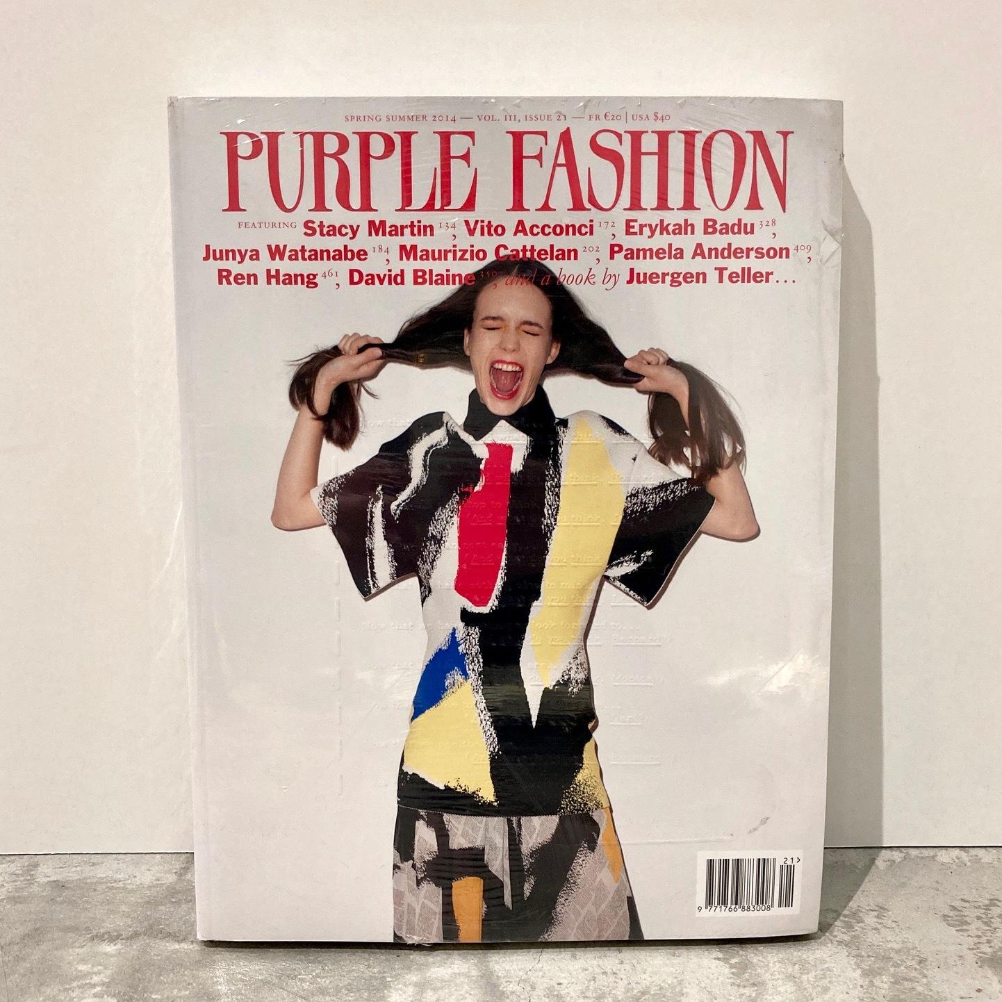 BOOK / PURPLE FASHION  magazine S/S 2014 Issue 21