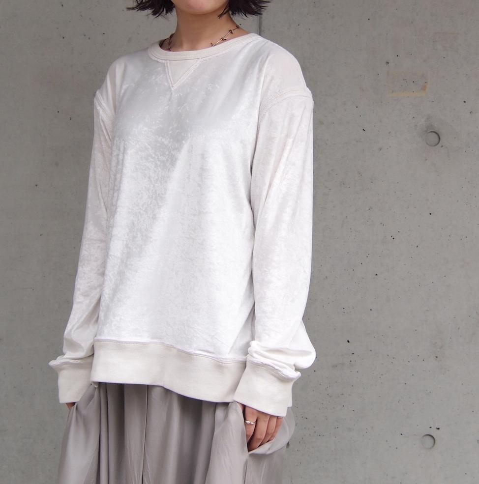 【sandglass】edge pullover / 【サンドグラス】エッジ プルオーバー