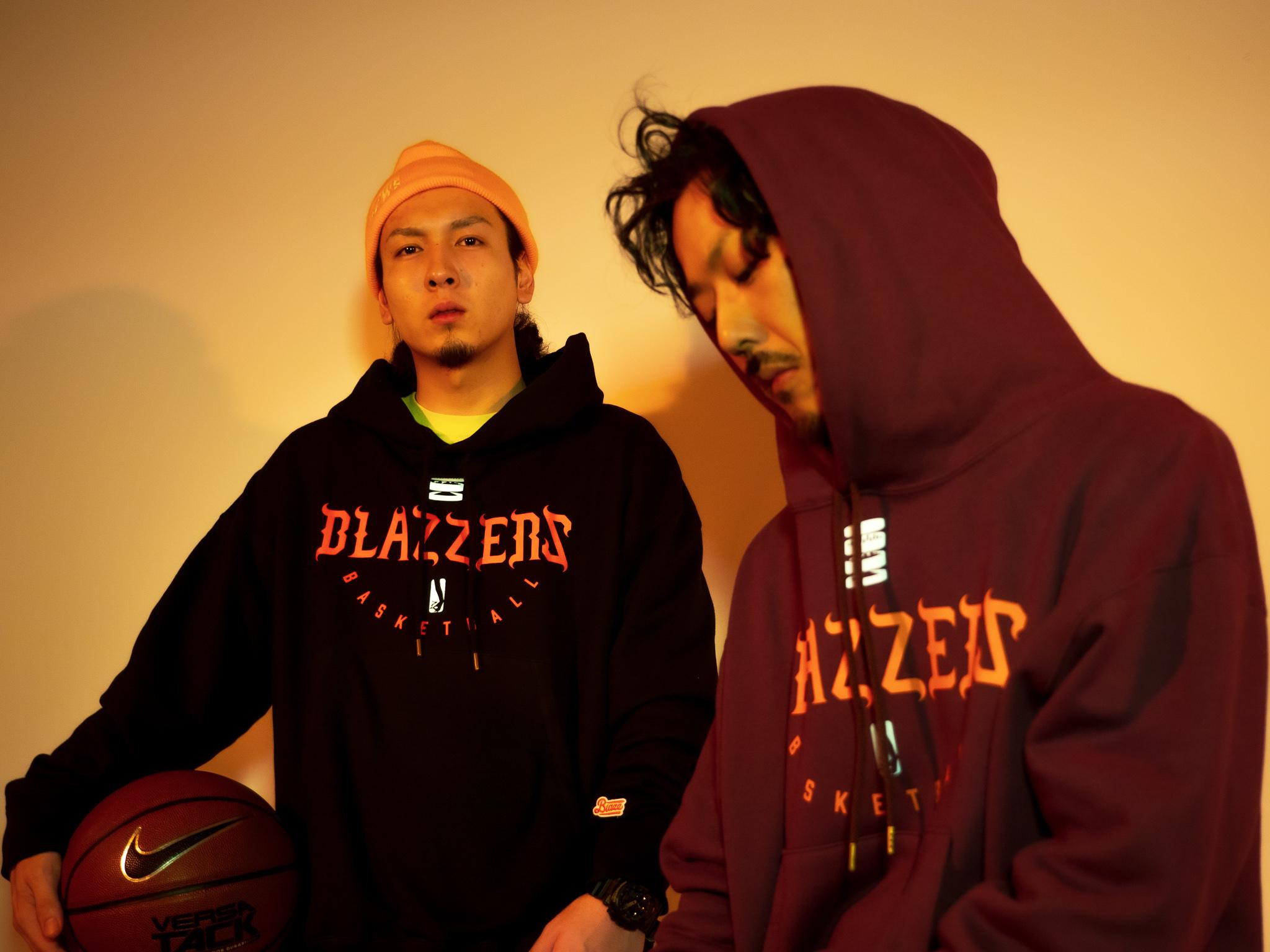 BLAZZERS HEAVY HOODIE -MADE IN JAPAN- [BLACK]