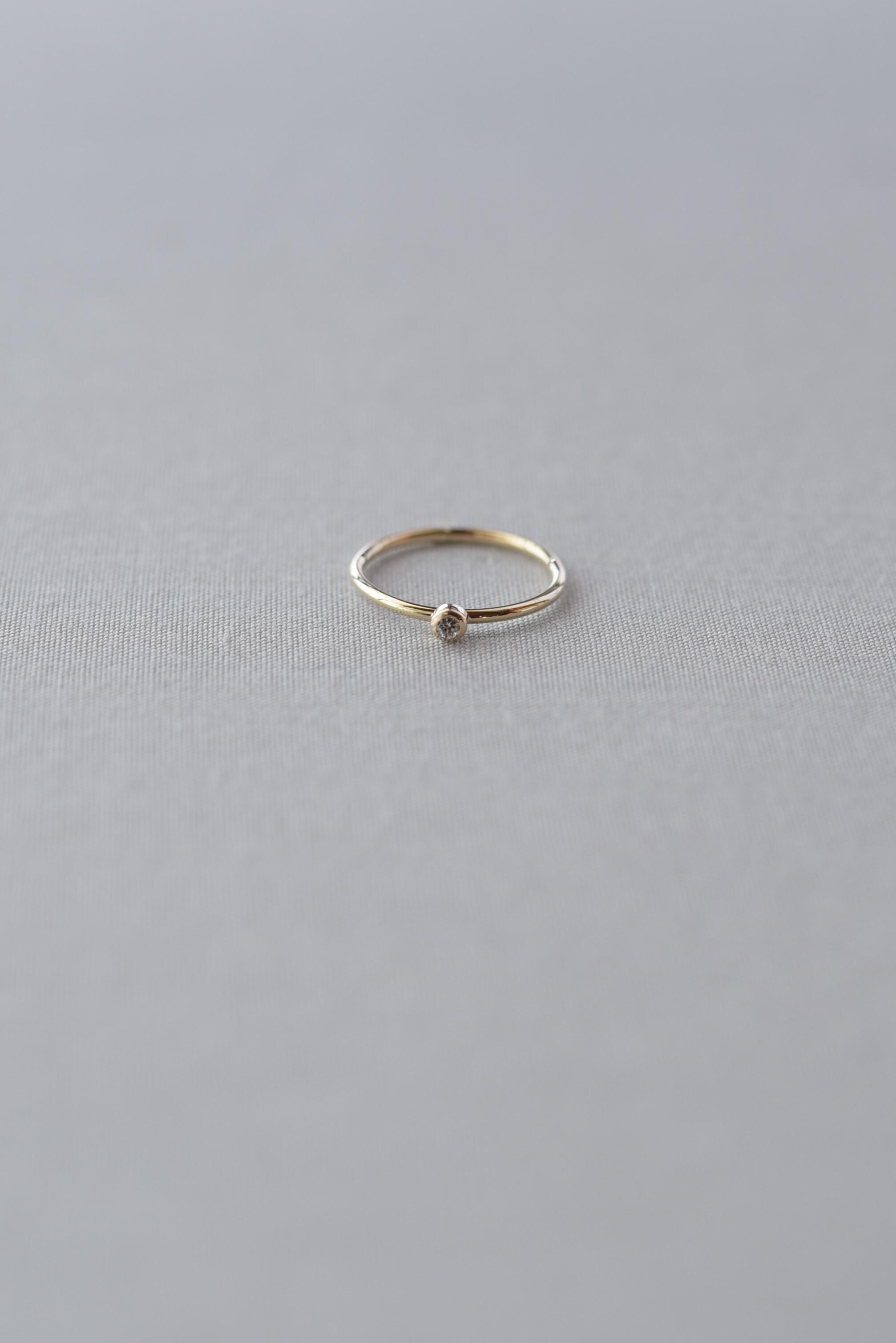 accesories mau|R-35-2 ダイヤモンドピンキー ring