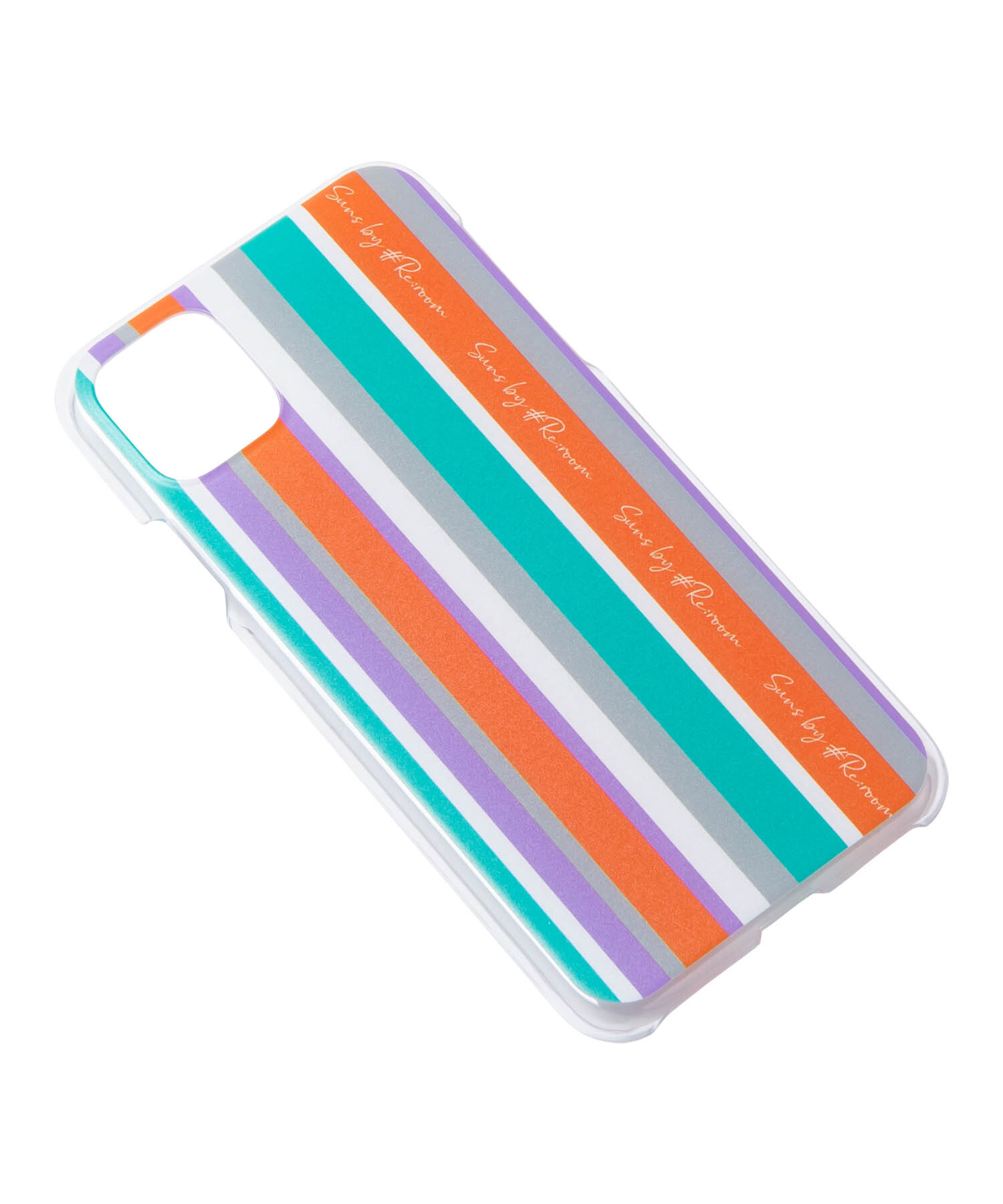 SUNS MULTI STRIPE SIGN LOGO iPhone11Pro Max CASE[RSG006]