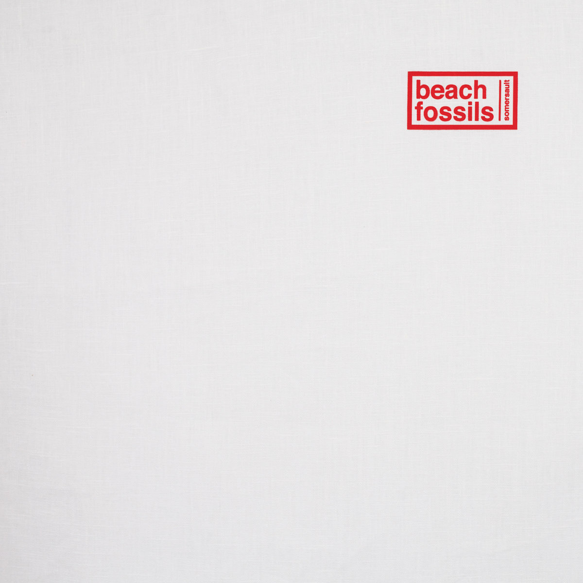 Beach Fossils / Somersault(Ltd Clear LP)