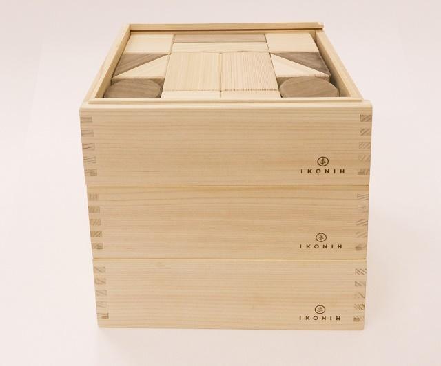 デラックス積み木 BUILDING BLOCKS DELUXE ※送料無料  | 木のおもちゃ 出産祝い