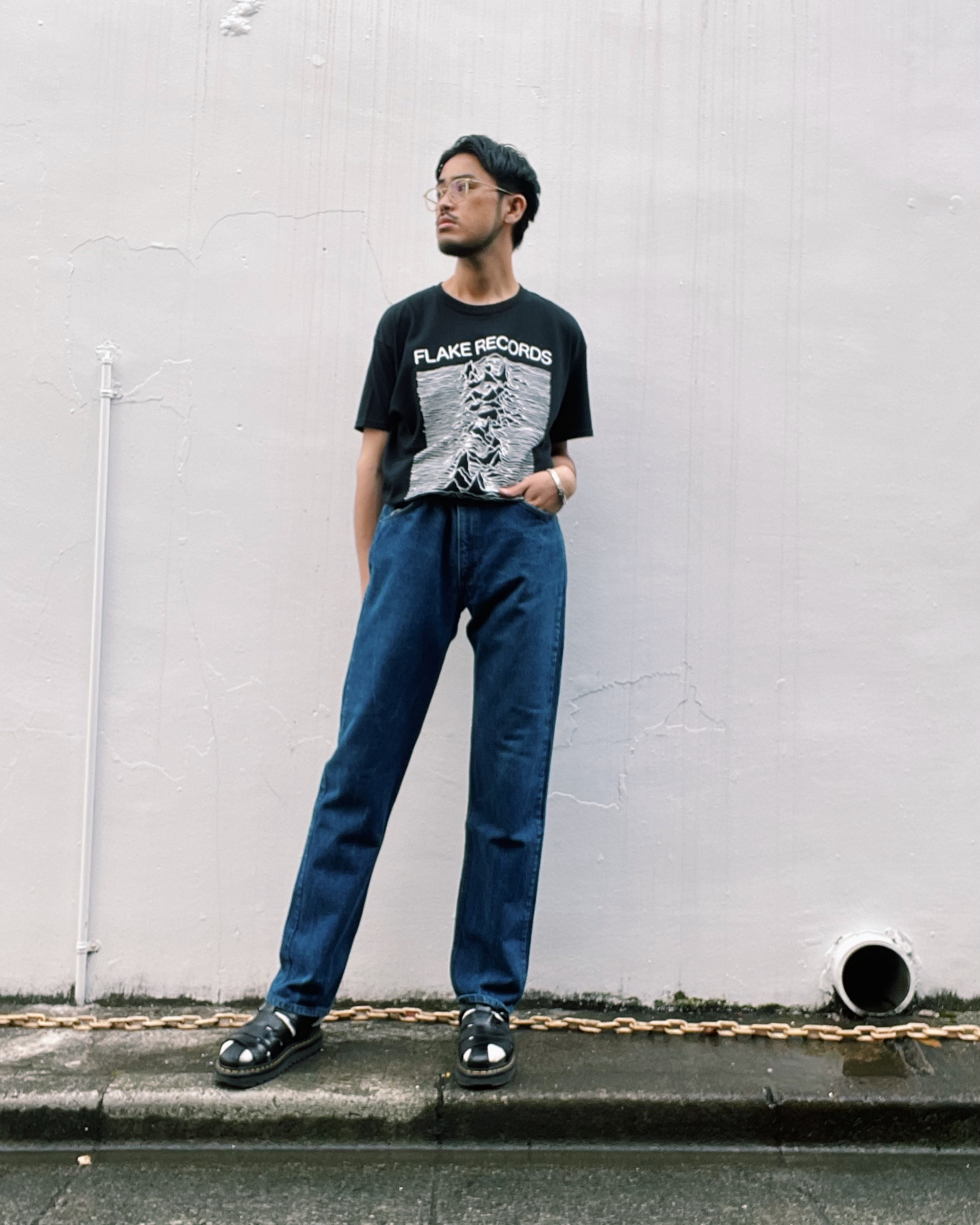 (PT037)80's Levi's 20505 made in USA