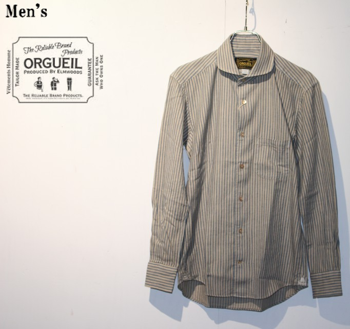 ORGUEIL  ウィンザーカラーシャツ Windsor Collar Shirt OR-5002B