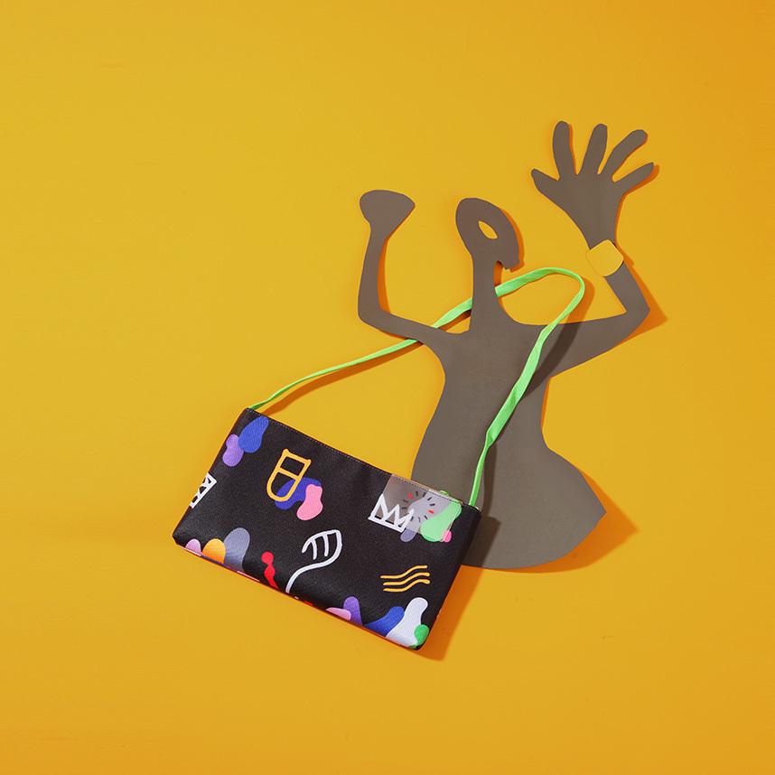【予約商品】 【漢字 シリーズ】 多機能ショルダーバッグ