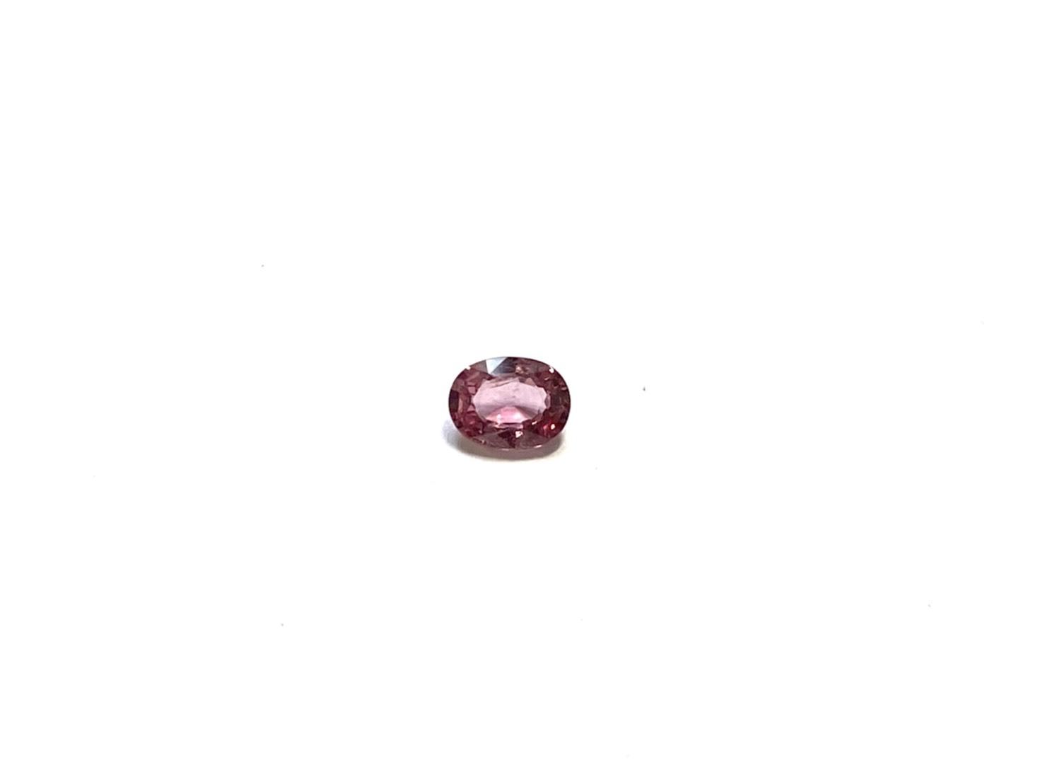 パパラチアサファイヤ+おまけ1石[No,k-3719]