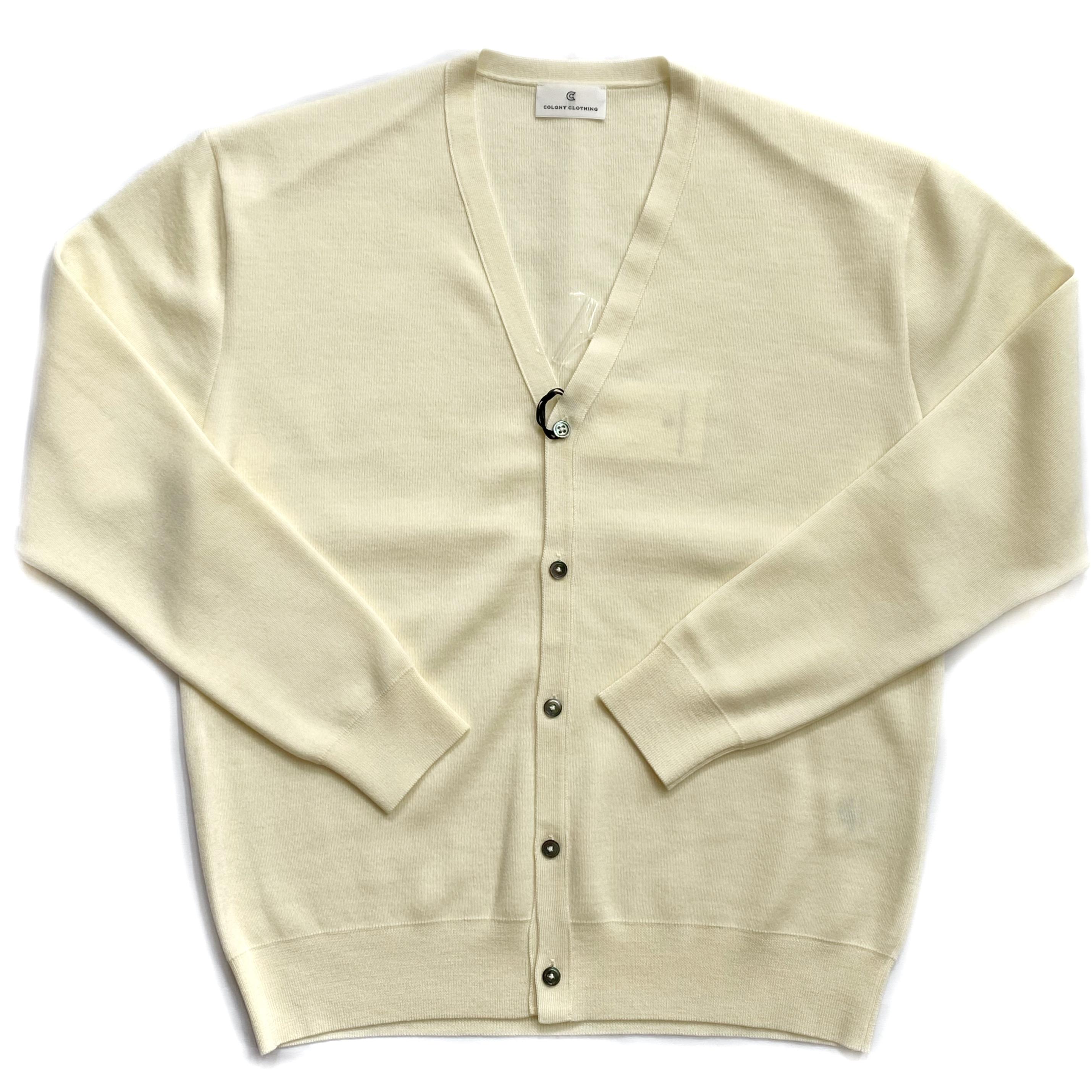 COLONY CLOTHING / Merino Wool Cardigan / CC21-2-KT02