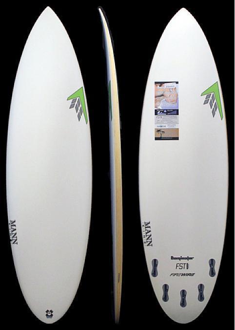 Firewire Dominator 6'4 x 21 x 2 3/4 41.5L 5-Fin FST Surfboard
