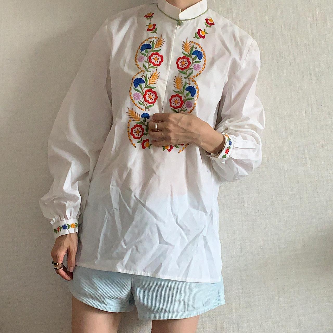 70's-80's Caftan blouse