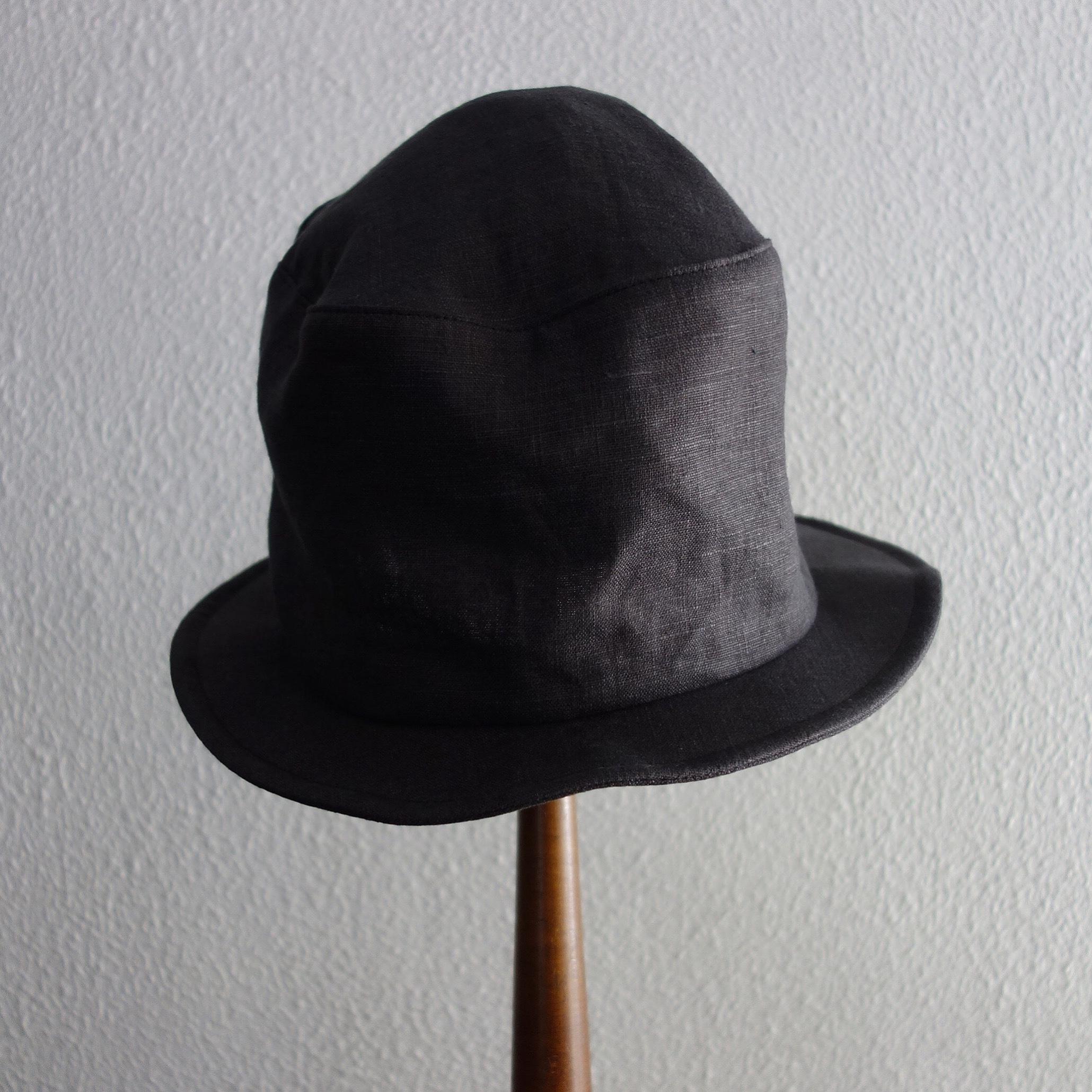 chevalier hat Ⅱ / antique charcoal