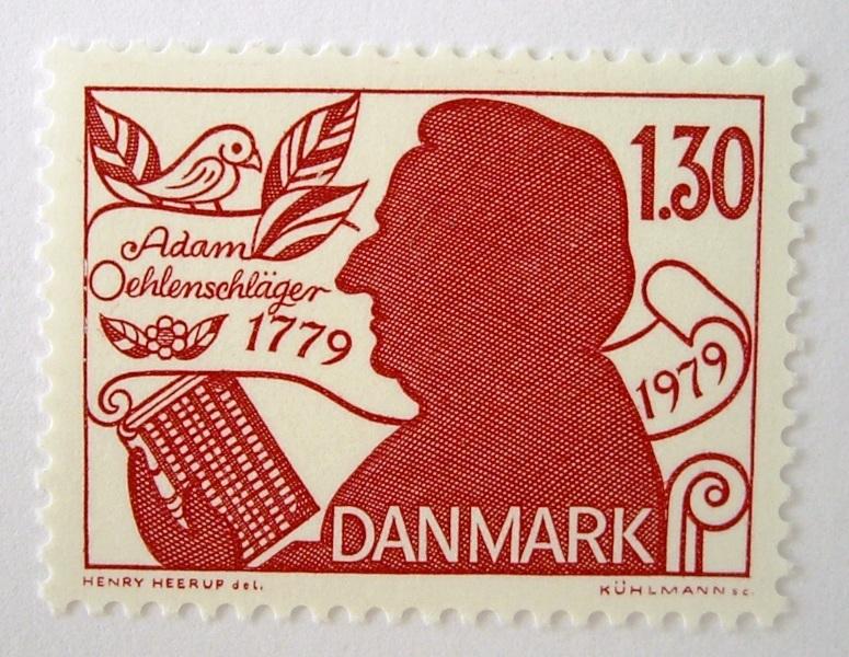 詩人エーレンスレーアー誕生200年 / デンマーク 1979