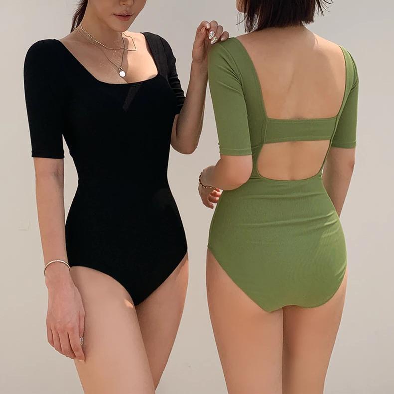Half Sleeve Swimwear