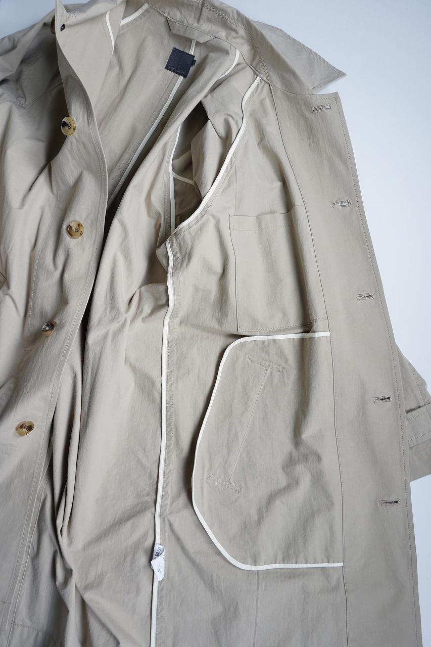 Densely Woven Poplin Coat
