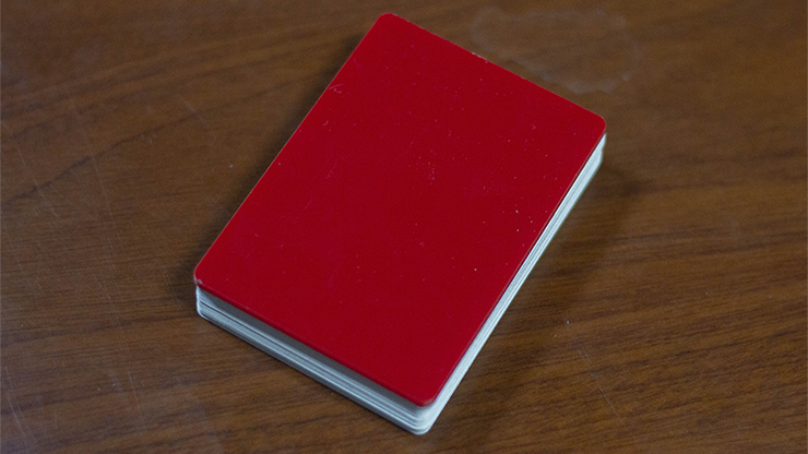 Pure Cardistry (Red) Training Playing Cards (7 Packets)