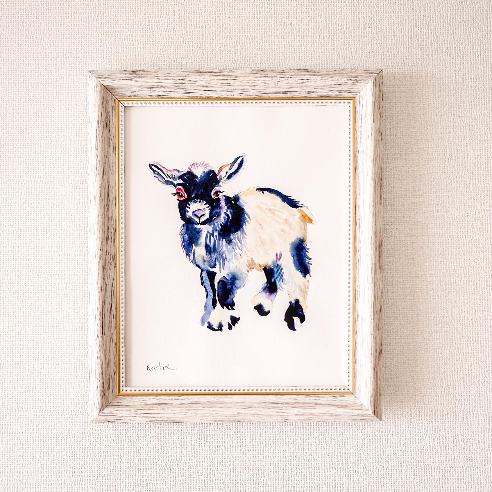 Dear Baby Goat