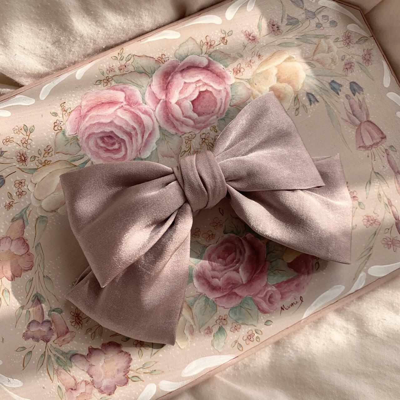 【meltie】velours ribbon valetta