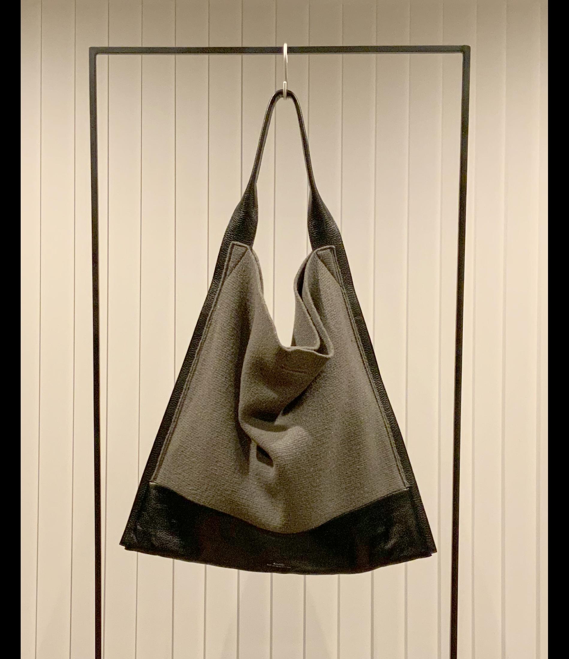 Combination Tote Bag / Greige