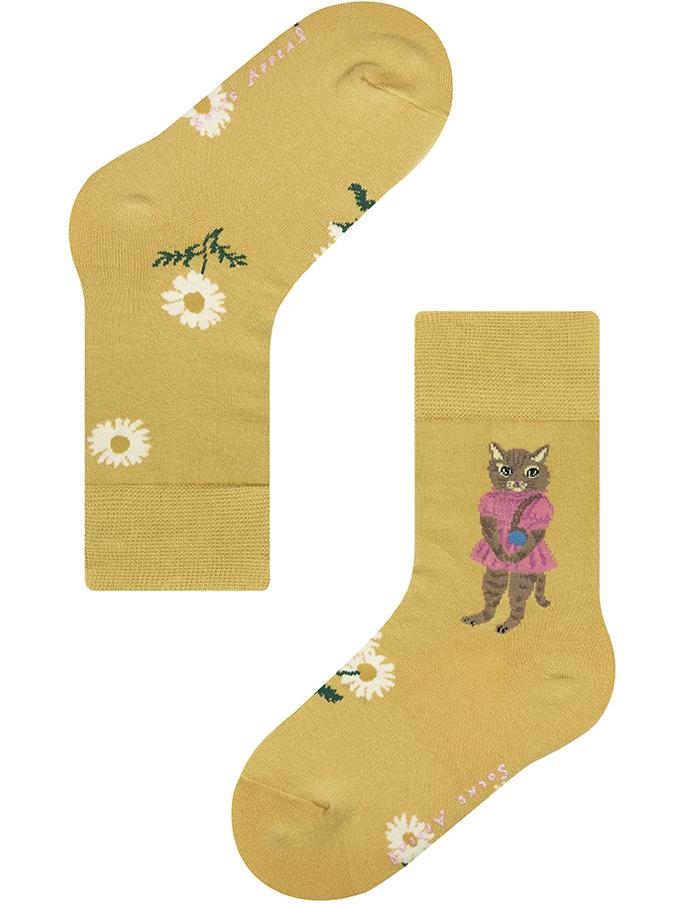 【Nathalie Lete】KIDS PINK DRESS CAT
