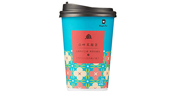 Mug&Pot カップティー白桃烏龍茶 2g