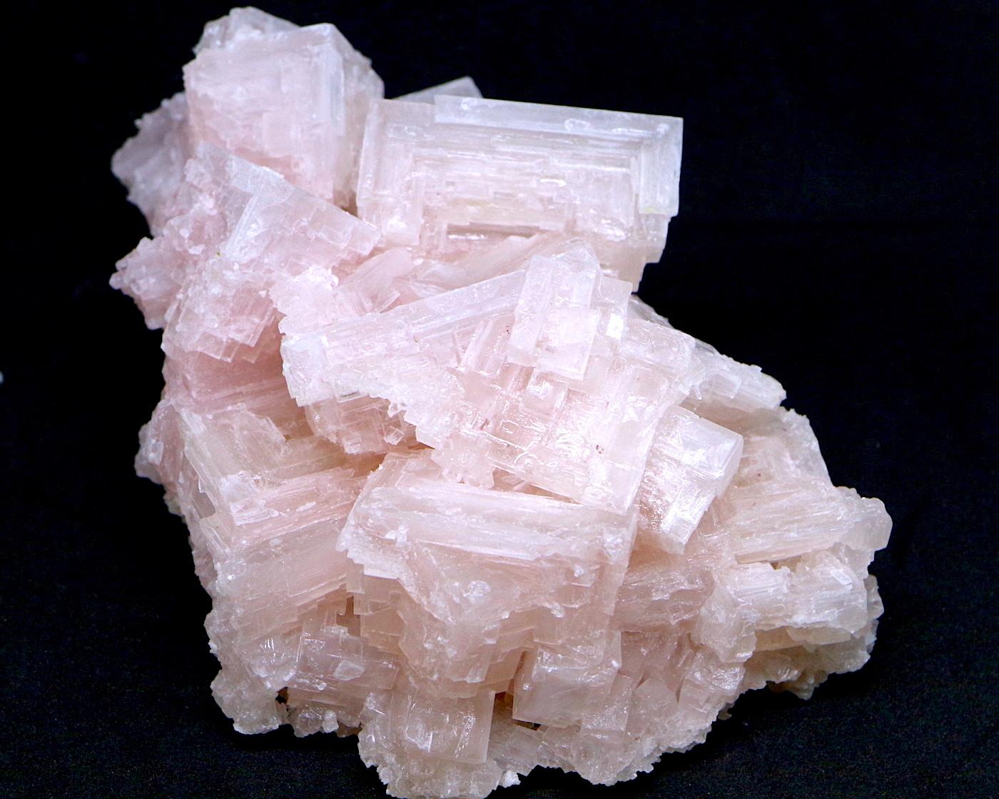 採れたて!ピンクハーライト カリフォルニア産 305,6g 岩塩 PH055