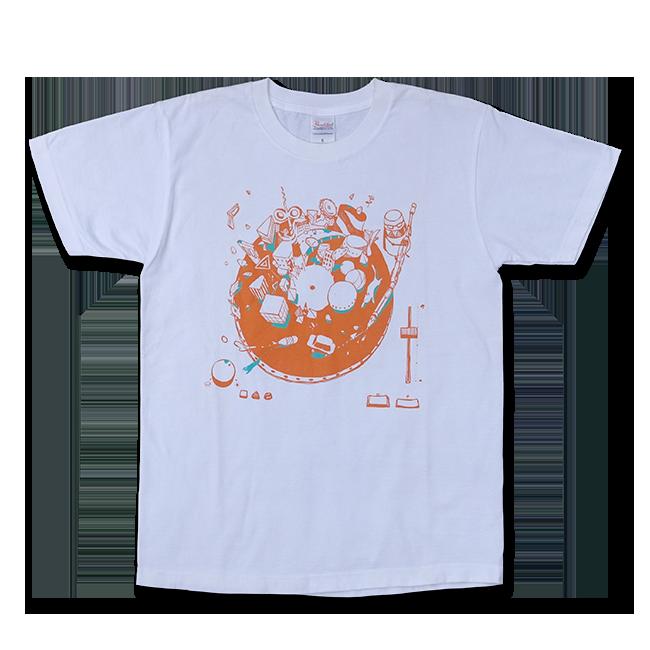 sasakure.UK『トンデモ未来空奏図』Tシャツ ホワイト(メンズ / レディース) - 画像1